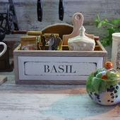 Дуб. Короб для чая, специй и не только  Где-то там Прованс.