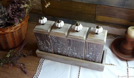"""Набор для чая, кофе, трав """"Бежин луг"""" ручной работы на заказ"""