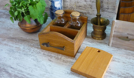 """Набор для кухни, коллекция """"Старая Европа"""" ручной работы на заказ"""