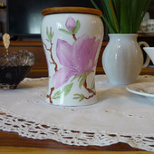 """Баночка для чая, трав, кофе """"В краю магнолий"""""""