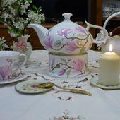 """Чайник с подогревом """"Английский сад"""""""
