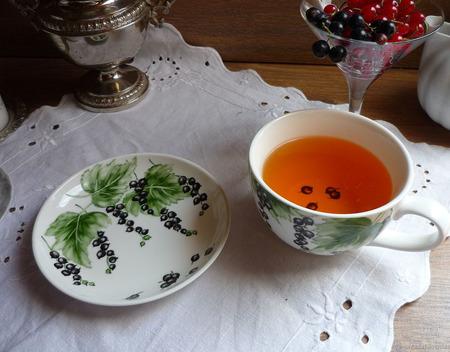 """Большая чайная, бульонная пара """"Витаминка"""" ручной работы на заказ"""