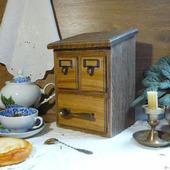 """Дубовый чайный комод, коллекция """"Старинушка"""""""