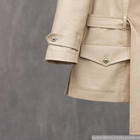 """Пиджак джинсовый """"Сафари"""", хлопок ручной работы на заказ"""