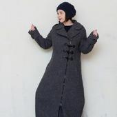 """Зимнее пальто дафлкот """"Марселла"""", шерсть"""