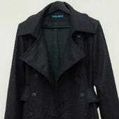 Пальто демисезонное Редингот, шерсть