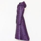 Пальто демисезонное стёганое Лесная фиалка