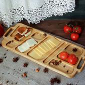 """Сервировочное блюдо/доска  из ясеня """"Пшеничное поле"""""""