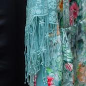Платье из натурального шёлка Ноктюрн