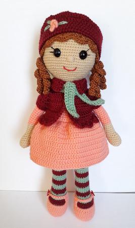 """Кукла """"Маша"""" ручной работы на заказ"""