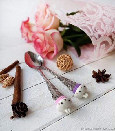 """Подарочный набор """"Вкусные ложечки"""" ручной работы на заказ"""