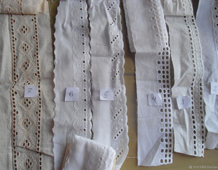 Кружево винтаж ручной работы на заказ
