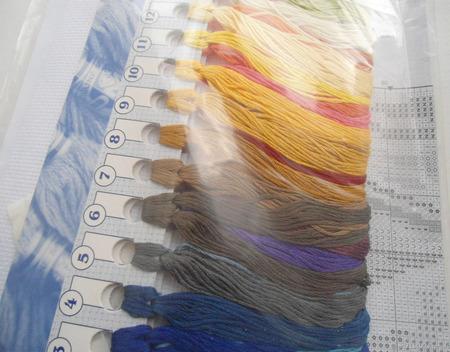 """Набор для вышивки """"Ривьера"""" ручной работы на заказ"""