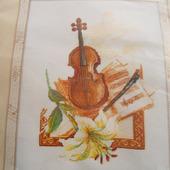 """Набор для вышивки """"Скрипка"""""""