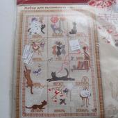 """Набор для вышивки - календарь """"Кошки"""""""