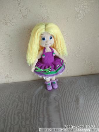 Кукла Виолетта ручной работы на заказ