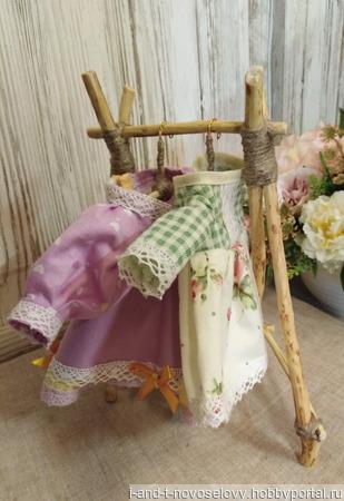Мягкая игрушка Зайка-модница ручной работы на заказ
