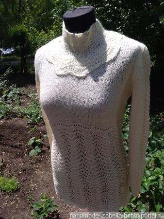 """Пуловер """"Руслада"""" ручной работы на заказ"""