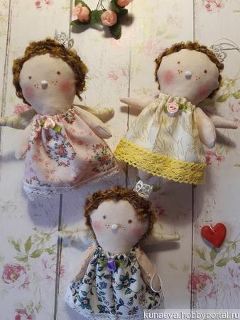 Ангелочки Тильда ручной работы на заказ