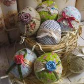 Пасхальные интерьерные яйца