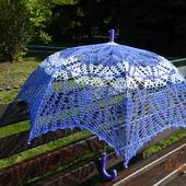 Зонт-трость ручной работы