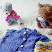 фото: Одежда для девочек — товары для детей (кардиган вязаный)