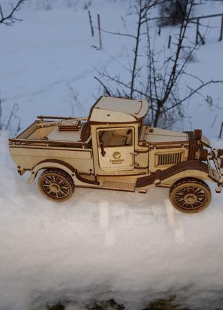 Готовая модель - грузовик ГАЗ-АА ручной работы на заказ