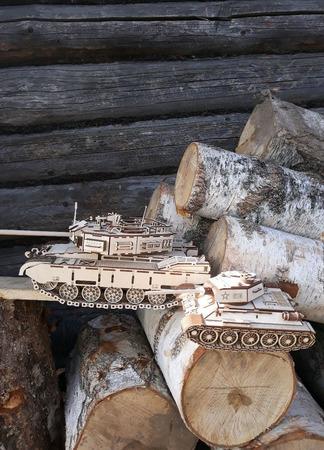 Готовая модель - танк Кайман ручной работы на заказ