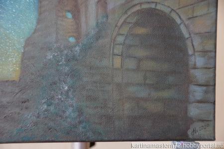 """Картина маслом """"Мангуп-Кале"""" ручной работы на заказ"""