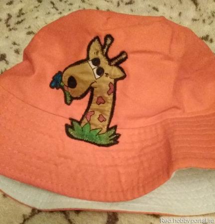 Красная шапочка ручной работы на заказ