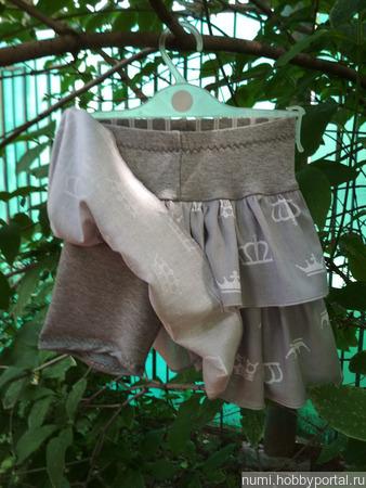 Юбка-шорты ручной работы на заказ