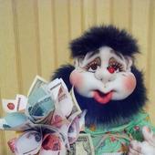 Домовой Кузьмич (кукла из капрона)