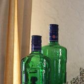 Бутылки зеленое стекло с крышками бехеровка