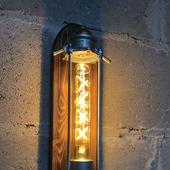"""Настенный светильник в стиле лофт/стимпанк """"Fuel my Fire"""""""