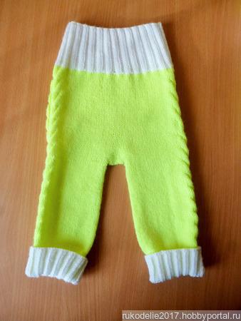 Вязаный костюмчик для малышей ручной работы на заказ