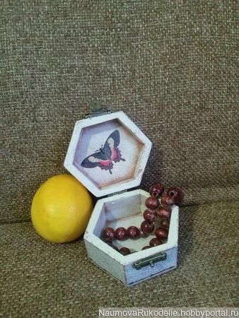 Шкатулка с птицей ручной работы на заказ