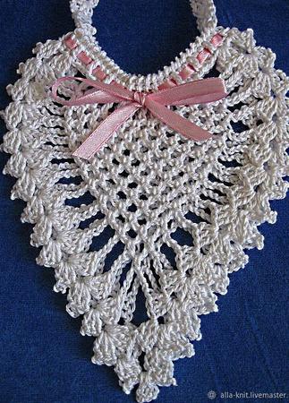 Платье вязаное крючком для девочки ручной работы на заказ