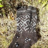 Носки из собачьей шерсти