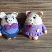 Свинки амгуруми
