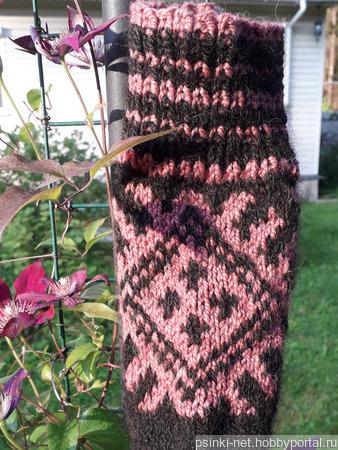 Носки из собачьей шерсти ручной работы на заказ