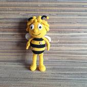 Пчела Майя амигуруми
