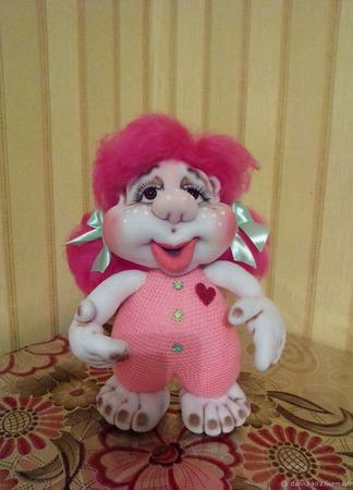 Домовушечка - Сердечко - Милашка ручной работы на заказ