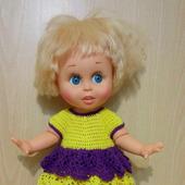Лот нарядов для куклы фейсинки
