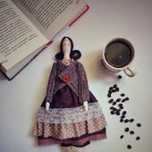 Кофейная Кукла Тильда