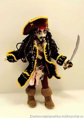 Пират Джек Воробей ручной работы на заказ