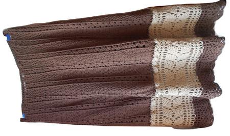 Юбка с листочками ручной работы на заказ