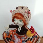 Интерьерная куколка Кошечка