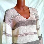 фото: вязаный свитер