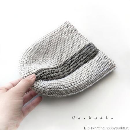 МК шапка крючком #hat_theone ручной работы на заказ