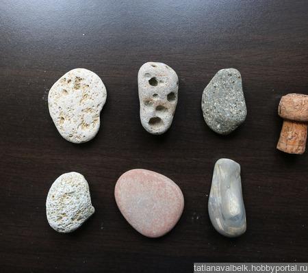 Морские камни набор 2  камешки для аквариума ручной работы на заказ